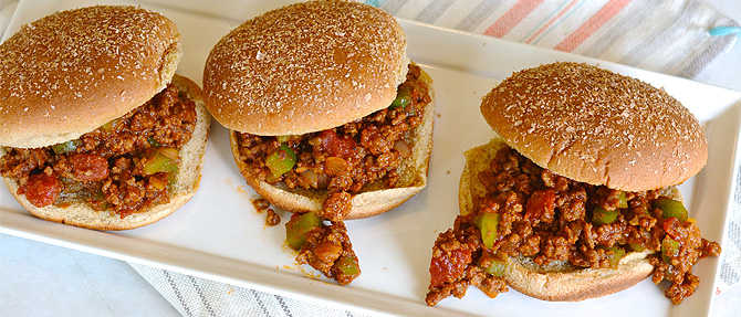 #MakeItClean – Clean Eating Sloppy Joes