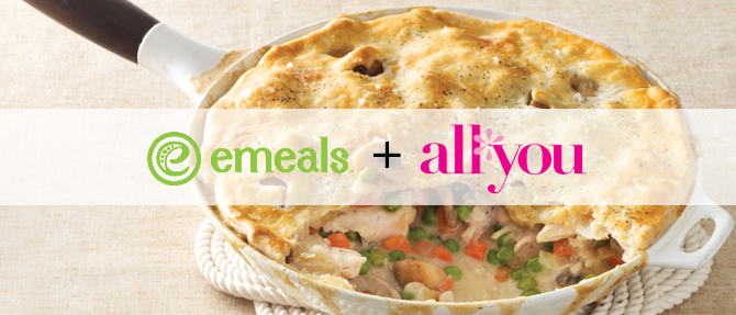 Skillet Chicken Pot Pie from All You