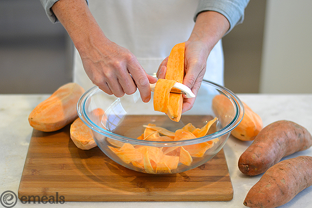 How to Make Sweet Potato Pappardelle Pasta | eMeals