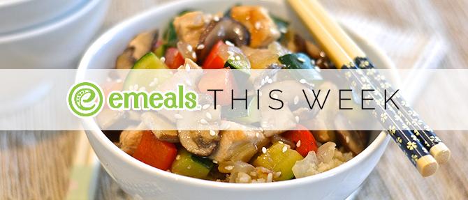 On the Menu This Week: Teriyaki Chicken and Vegetables