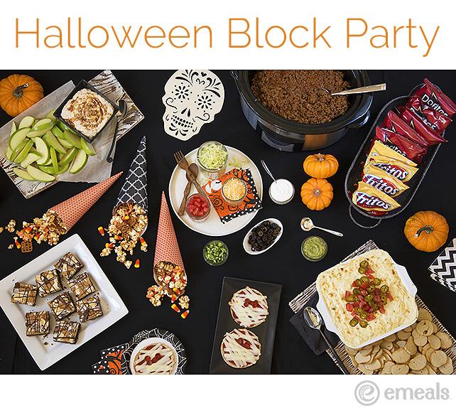 Halloween Block Party Menu | eMeals