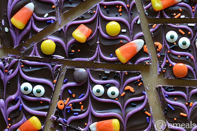 Halloween Candy Bark | eMeals