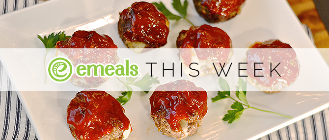 On the Menu This Week: Cheese-Filled Meat Loaf Muffins