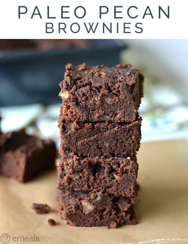 Paleo Pecan Brownies | eMeals