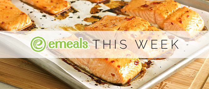 On the Menu This Week: Spicy Orange-Glazed Salmon
