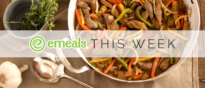 On the Menu This Week: Balsamic-Garlic Beef Tips