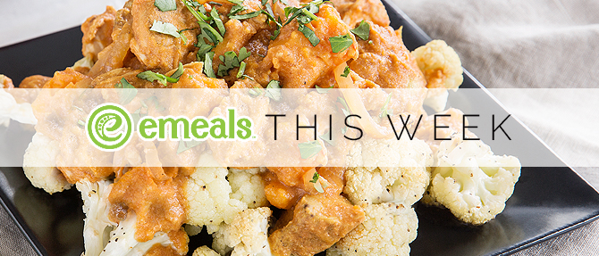 On the Menu This Week: Coconut Curry Chicken and Sweet Potatoes