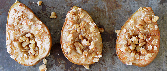 Spiced Baked Pears