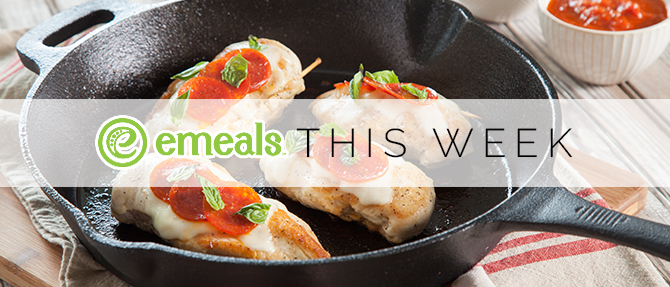 On the Menu This Week: Pizza-Stuffed Chicken