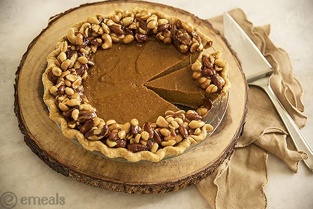 Salted Caramel Pumpkin Pie | eMeals