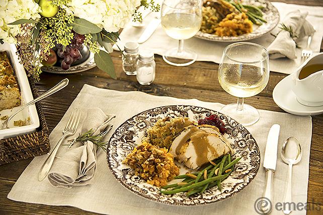 Thanksgiving Occasions Menu | eMeals