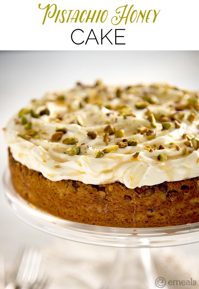Pistachio Honey Cake | eMeals2