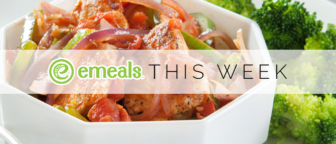 On the Menu This Week: Slow-Cooker Chicken Cacciatore