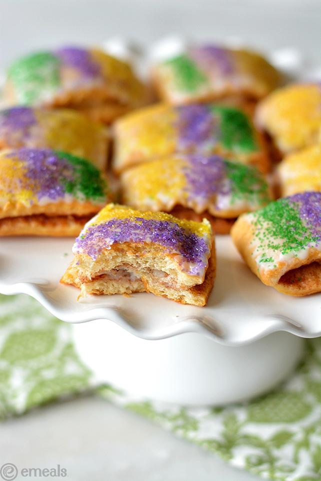 King Cake Bites for Mardi Gras | eMeals