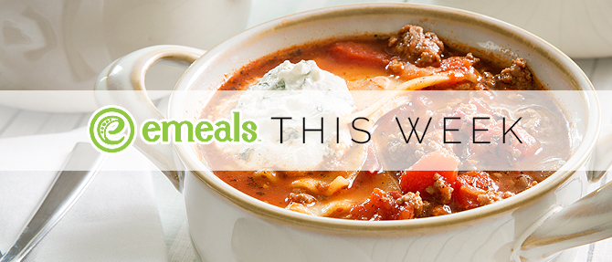 On the Menu This Week: One-Dish Dinner Lasagna Soup