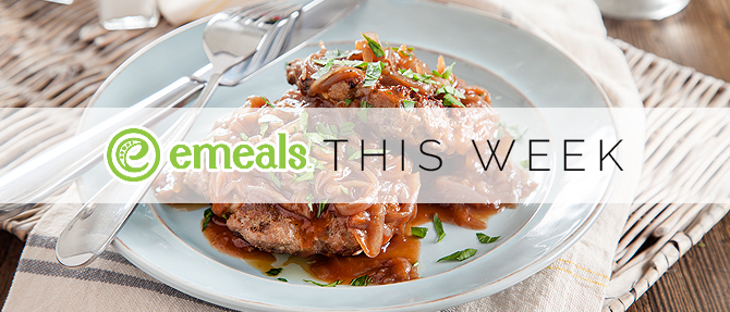On the Menu This Week: Salisbury Steak with Caramelized Onion Gravy