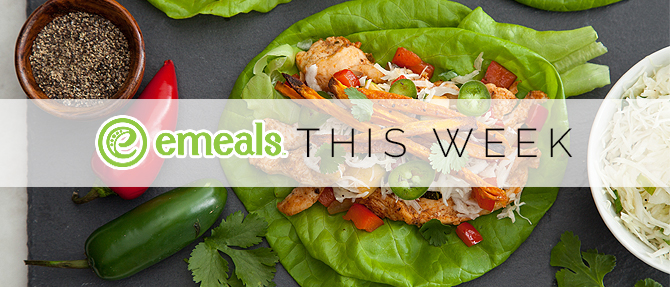 On the Menu: Southwestern Chicken Lettuce Wraps