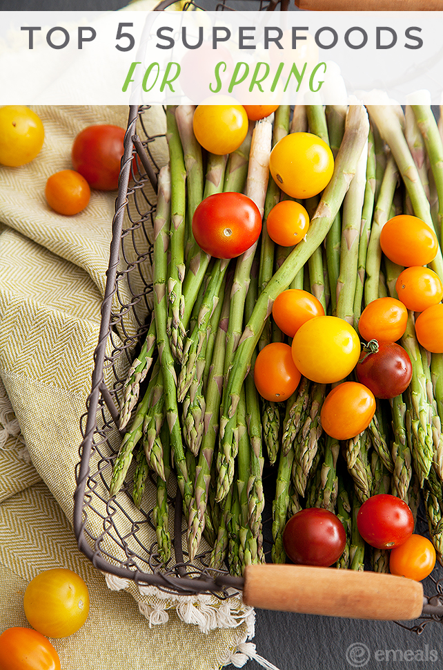 Top 5 Superfoods for Spring: Asparagus | eMeals