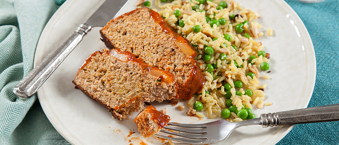 On the Menu: Hawaiian Turkey Meat Loaf