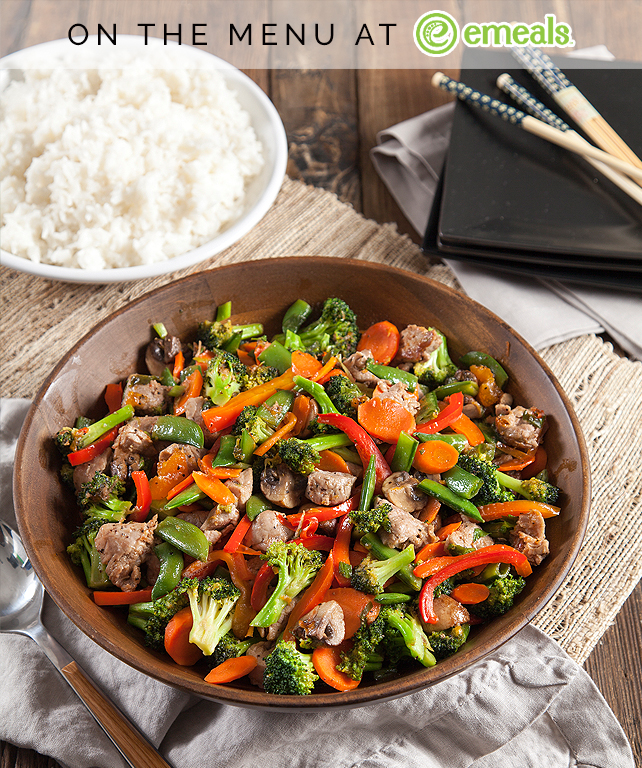 Pork and Vegetable Stir-fry | eMeals