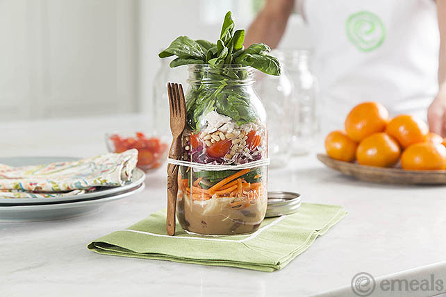 Greek Salad in a Jar | eMeals